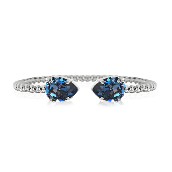 Mini Drop bracelet / Montana / Rhodium