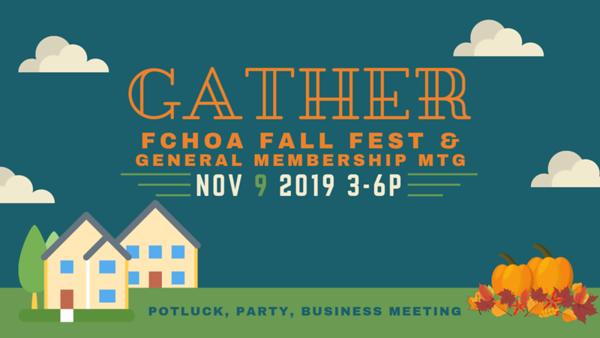 FCHOA Fall Festival