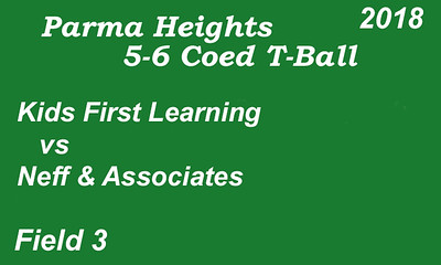 180606 Parma Heights T-Ball Field #3