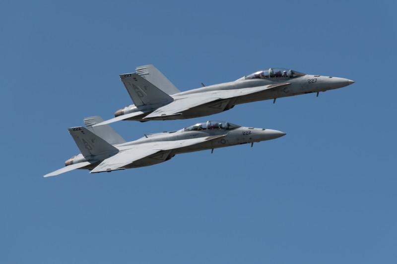 NAS Oceana Airbone Change of Command Ceremony; Capt. John Hewitt relieves commanding officer of NAS Oceana, Capt. Chad Vincelette
