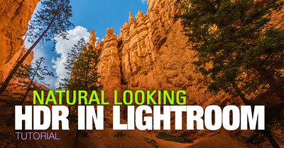HDR Photography Tutorials - HDR In Lightroom