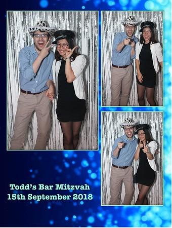 Todd's Bar Mitzvah - 16.9.18