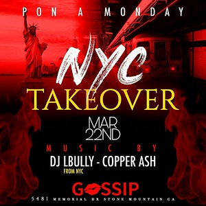 PON A MONDAY PRESENTS NYC TAKEOVER