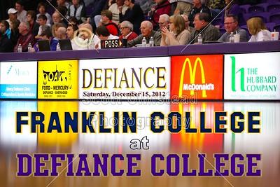 2012 Franklin at Defiance (12-15-12)