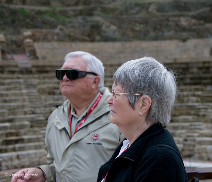 Sun 3/13 in Malaga: Randy and Joyce by the Roman Theater