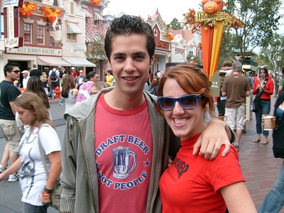 August 14, 2008 - Gay Days at Disneyland in Anaheim California with Ray, Suzy, and Yoni