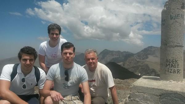 Cerro de los Machos & Veleta