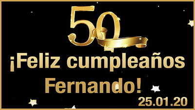 50 cumpleaños Fernando