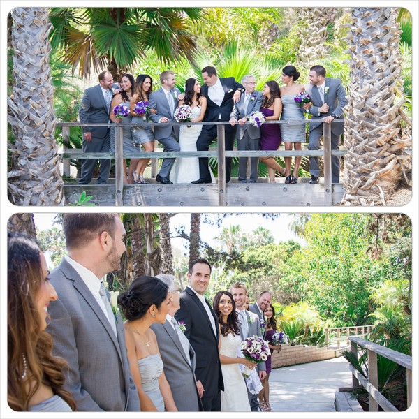 Paradise Point Resort Soledad Club Wedding - San Diego Wedding Photographer - gruop from different angles.jpg