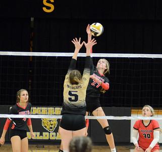 HHS volleyball at Summersville