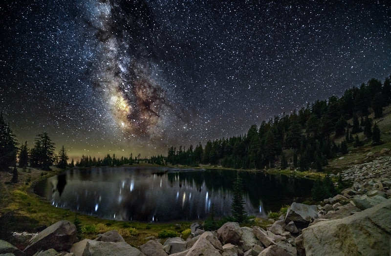 Milky Way at Emerald Lake