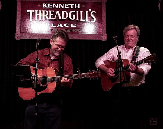 The 2 Randy's at Threadgills