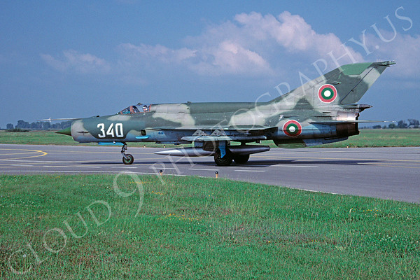 Bulgarian Air Force MiG-21 Airplane Pictures