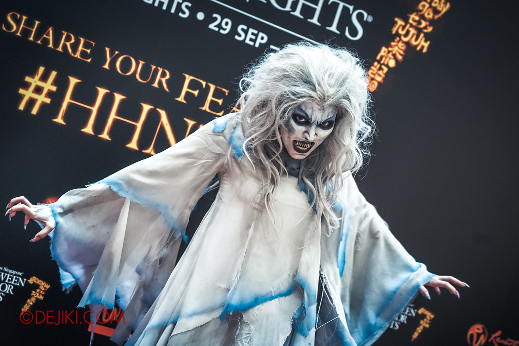 Halloween Horror Nights 7 Singapore - RIP Tour Review / Private Meet and Greet with Iconic Character MALICE