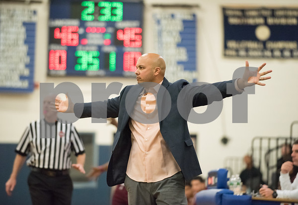 01/25/18 Wesley Bunnell | Staff Bristol Eastern boys basketball defeated Bulkeley 58-54 in OT after trailing for most of the game.
