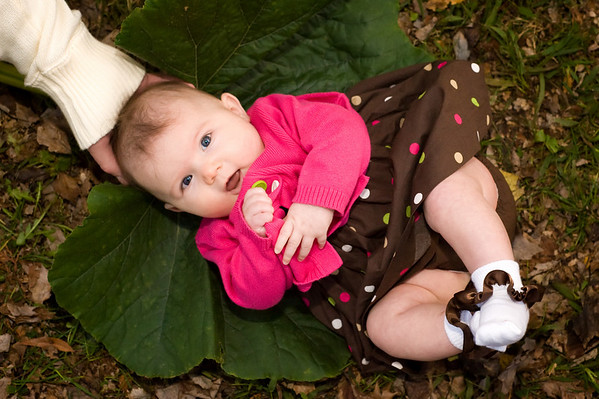 Professional Pictures of Madyson and Zoe (4 months)