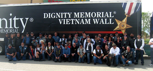 Vietnam Wall escort