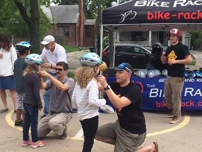 Governor Bikes to Prescott
