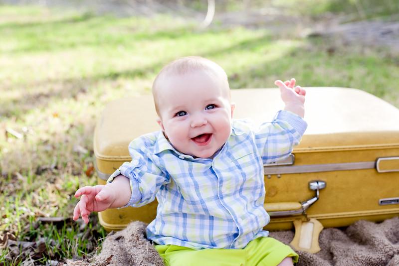 John David is 6 Months Old - 3.2018
