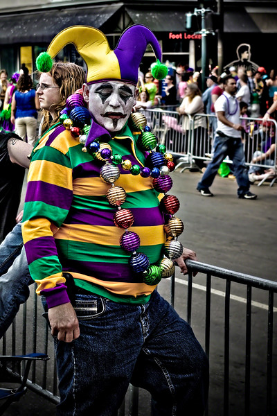 Fat Tuesday Jester