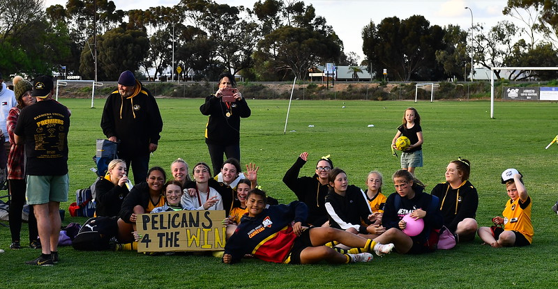 WOMENS TOP 4 CUP CHAMPIONS TEAM PHOTO BARMERA