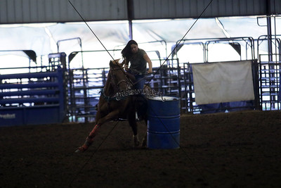 Thursday Night Barrel Racing with Jacque and Courtney