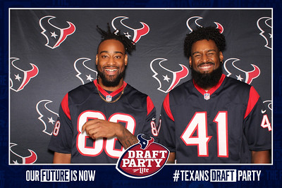 April 25, 2019 - Texans Draft Party 2019