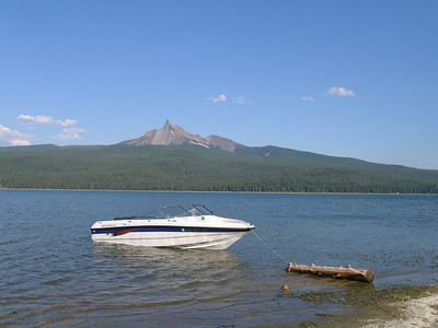 Boat Camping - Diamond Lake - August 2006