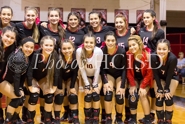 Cards vs Hanna Volleyball 2016
