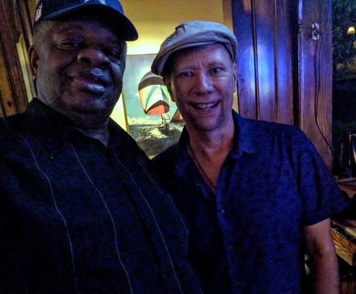 20160825 John Lee Trio Gregory Burrus with Guitarist Paul Bollenbach 001434.jpg