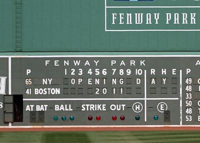 Red Sox, April 8, 2011