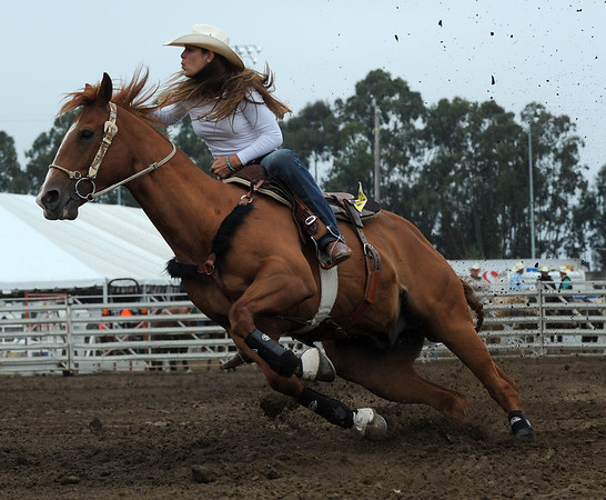 2011 SALINAS RODEO SATURDAY SLACK BARRELS