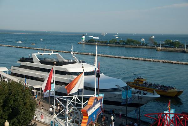 Navy Pier & Bahai Temple, 2010