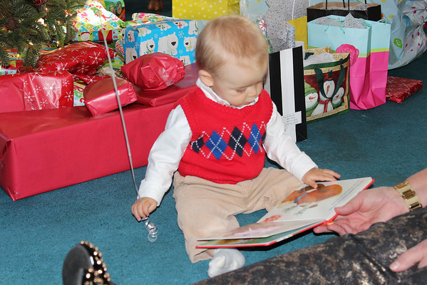 Joseph's first Christmas!