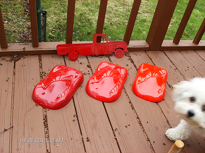 2014-04-29  - Big Red - Red paint panel forms