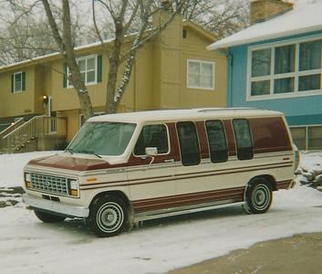 1989 Ford Econoline Conversion Van