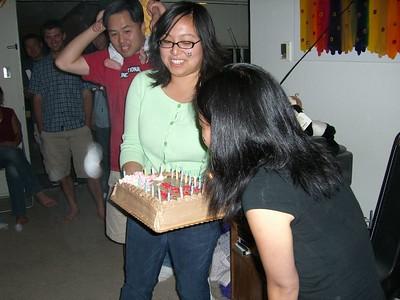 2005.09.10 Saturday - Lisa Chang's surprise b-day