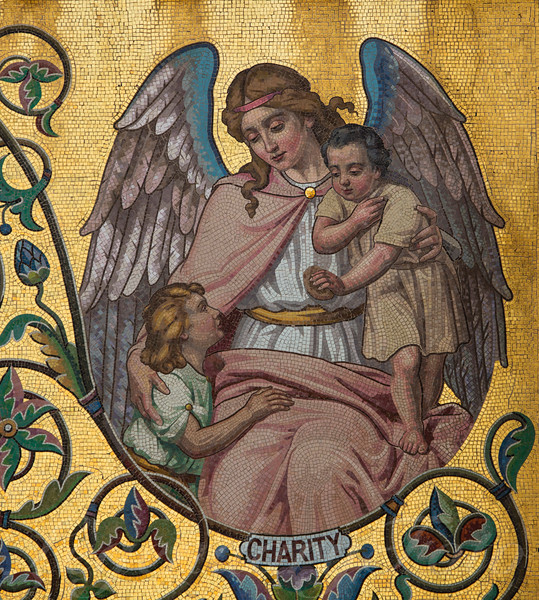 Charity Mosaic Angel