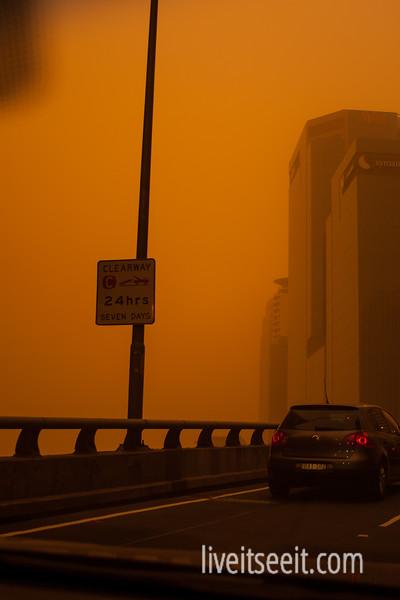 Sydney Dust Storm - 23 September 2009