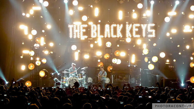 The Black Keys at The Joint in Las Vegas just after midnight on the 1st of January 2013  (Photo by Benjamin Padgett)