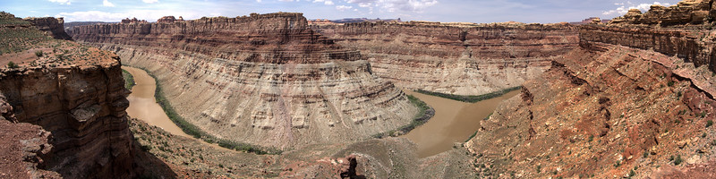 Confluence of Colorado and Green Rivers Canyonlands National Park