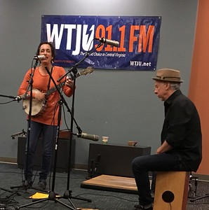 2016 04-07 Evie Ladin & Keith Terry at WTJU