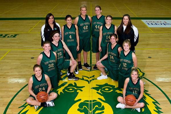 Women's Basketball Team Photos, '07-'08