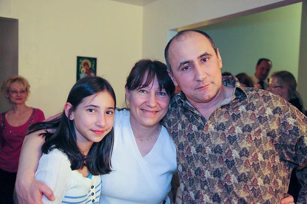 Nina's Birthday celebration - March, 2011