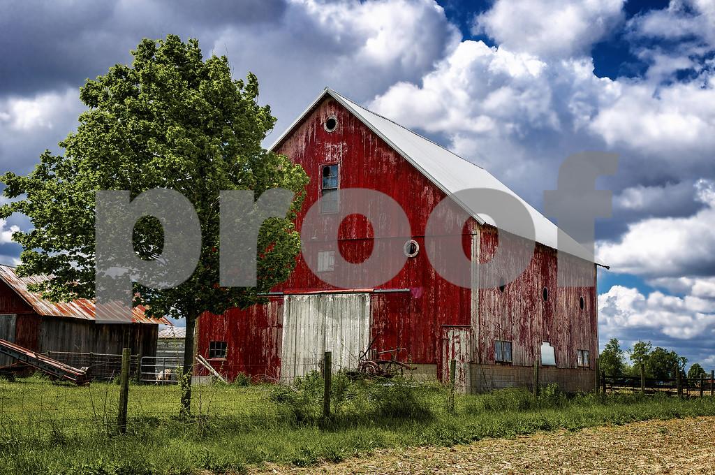 Indiana barn...