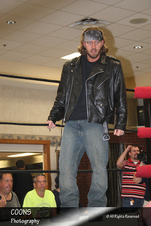 """NECW 6/8/12 - """"The Real Deal"""" Brandon Locke vs """"The Statement"""" Elia Markopoulos with """"Mr. Fabulous"""" Tony Ulysses"""