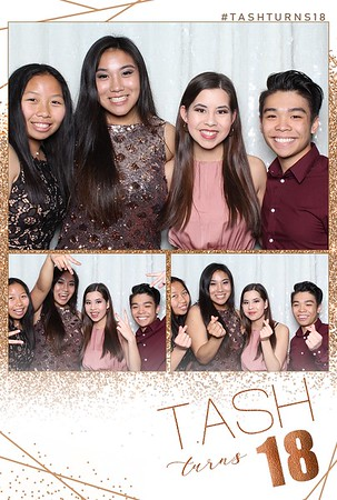 Tash Turns 18