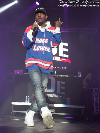 Kendrick Lamar <br> April 21, 2013 <br> Tsongas Center - Lowell, MA <br> Photos by: Mary Ouellette