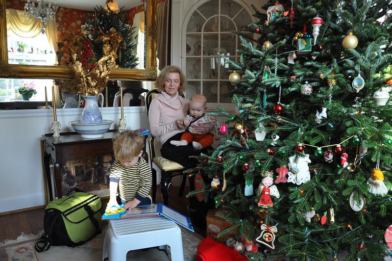 Christmas Day at Grandma's house
