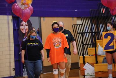 Richardson High School Volleyball Vs Nimitz